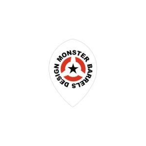 MONSTER フライト ティアドロップ 【ホワイト】 004 【モンスター】【FLIGHT】【DART|dartshive