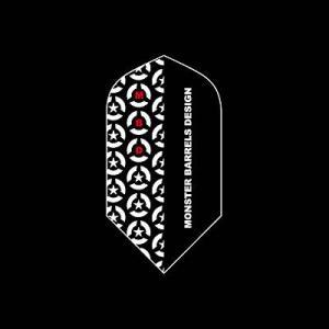 MONSTER フライト スリム 【ブラック】 012 【モンスター】【FLIGHT】【DARTS】【ダ|dartshive