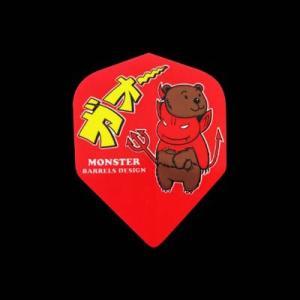 MONSTER フライト シェイプ 【レッド】 020 【モンスター mini-mon Ani-mon ミニモン|dartshive