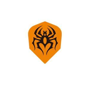 PRO フライト Indiesシリーズ <クリアスパイダー オレンジ×ブラック> セミスタンダード 【ハロウィ|dartshive