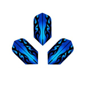 PROフライト indiesシリーズ Tribal Gale <ブルー スリム>|dartshive
