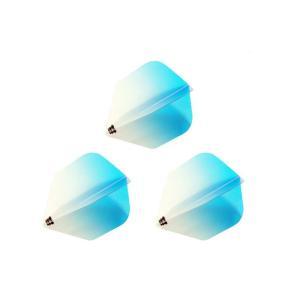 Bricolage グラデーションフライト シェイプ Type-1 <ターコイズ>|dartshive