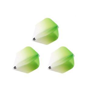 Bricolage グラデーションフライト シェイプ Type-1 <グリーン>|dartshive