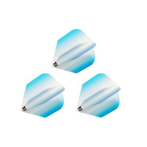 Bricolage グラデーションフライト シェイプ Type-2 <ターコイズ>|dartshive