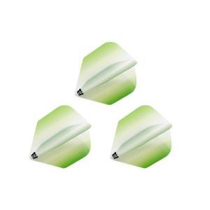 Bricolage グラデーションフライト シェイプ Type-2 <グリーン>|dartshive