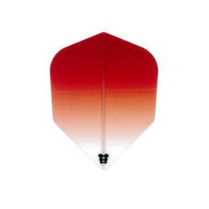 Bricolage グラデーションフライト シェイプ Type-1 <レッド>|dartshive