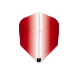 Bricolage グラデーションフライト シェイプ Type-2 <レッド>|dartshive