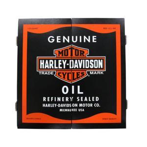 HARLEY-DAVIDSON(ハーレーダビッドソン) Oil Can Cabinet Only 61912 (ダーツ ボード キャビネット)|dartshive