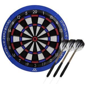 【セット商品】DARTSLIVE-ZERO BOARD(ダーツライブ ゼロボード) ブラスダーツセット (ダーツ ボード)|dartshive