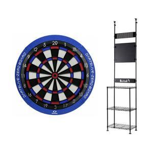 【セット商品】DARTSLIVE-ZERO BOARD&BLITZER ダーツスタンド BSD27-BKセット|dartshive