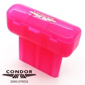 CONDOR BOX 無地 オンラインSHOP限定カラー クリアピンク (ポスト便不可)|dartsshoptito