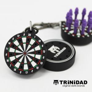 TRiNiDAD ボード型ティップホルダー ブラック (ポスト便OK/2トリ)|dartsshoptito