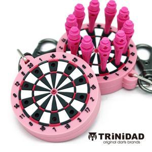 TRiNiDAD ボード型ティップホルダー ピンク (ポスト便OK/2トリ)|dartsshoptito
