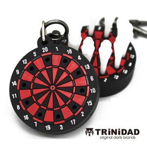 TRiNiDAD ボード型ティップホルダー レッド (ポスト便OK/2トリ)|dartsshoptito