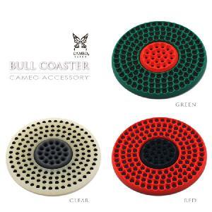 ダーツボード型 コースター アクセサリーCAMEO BULL(ブル)コースターダーツボード型 (ポスト便OK/10トリ)|dartsshoptito