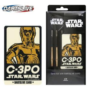 ダーツライブカード付 STAR WARS Darts Set C-3PO (ポスト便不可)|dartsshoptito