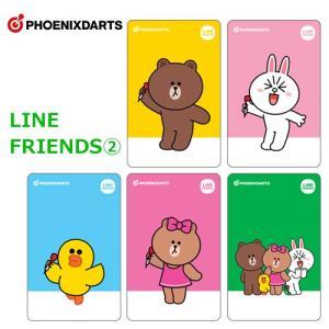 フェニックスカード×LINE FRIENDS 2 PHOENIXカード(ポスト便OK/1トリ)|dartsshoptito