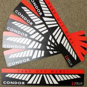 「ダーツ、線、ボード」CONDOR コンドル スローライン Version1 1枚 (ポスト便不可) |dartsshoptito