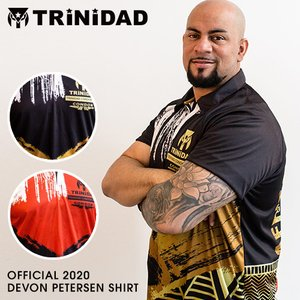 TRiNiDAD Devon Petersen  replica uniform トリニダード デヴ...