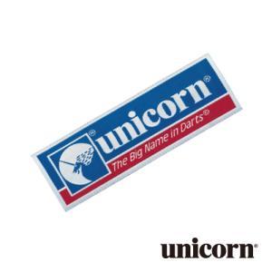 ダーツ アクセサリー unicorn ワッペン 4cm×12cm 85061 (ポスト便OK/1トリ)|dartsshoptito