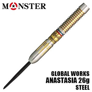 受注発注 ダーツ バレル MONSTER ANASTASIA GW モンスター アナスタシア 26g (ポスト便OK/7トリ)|dartsshoptito