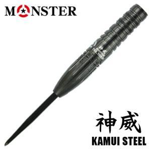 【受注発注商品】バレル MONSTER THE WORKS 神威 STEEL(ポスト便不可)|dartsshoptito