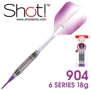 ダーツ バレル SHOT!(ショット) 904 6SERIES 18g (ポスト便OK/9トリ) dartsshoptito