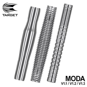 バレル ターゲット TARGERT MODA V1.1 V1.2 V1.3 モーダ ノーグルーブ スリムストレート オールグルーブ(ポスト便OK/7トリ) dartsshoptito