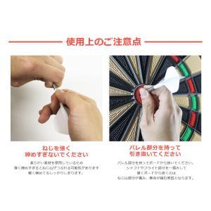 ダーツ フライト CONDOR コンドル シャフト 一体型 無地 スタンダード スモール (ポスト便OK/5トリ)|dartsshoptito|12