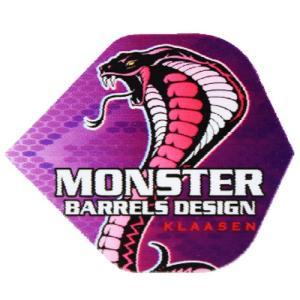 ダーツ フライト MONSTER(モンスター) COBRA ヤラ・クラッセン (メール便OK/2トリ)|dartsshoptito