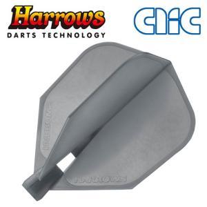 フライト Harrows(ハローズ) CLIC スモーキー シェイプ(ポスト便不可)|dartsshoptito