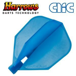 フライト Harrows(ハローズ) CLIC アクア シェイプ(ポスト便不可)|dartsshoptito