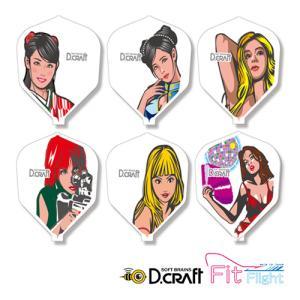 フライト D.craft フライトL Honey Trap ハニートラップ(ポスト便OK/3トリ)|dartsshoptito
