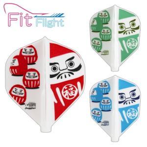 フライト Fitフライト×Juggler Dharma(だるま) ノーマル(ポスト便不可) dartsshoptito