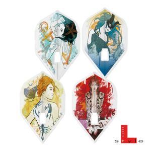 ダーツ フライト L-Style Flight-L ZODIAK シリーズ スタンダード 星座 エルスタイル フライトL ゾディアック L1c(メール便OK/3トリ)|dartsshoptito