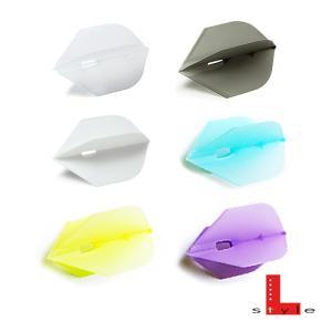 ダーツフライト シャンパンフライトL ロケット (ポスト便OK/3トリ)|dartsshoptito