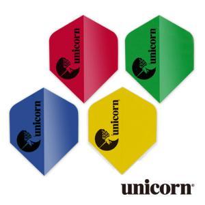 ダーツ フライト unicorn MAESTRO .100 ユニコーンロゴ(ポスト便OK/2トリ)|dartsshoptito
