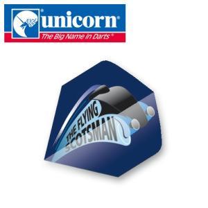 ダーツ フライト unicorn Authentic.100 68466(ポスト便OK/2トリ)|dartsshoptito