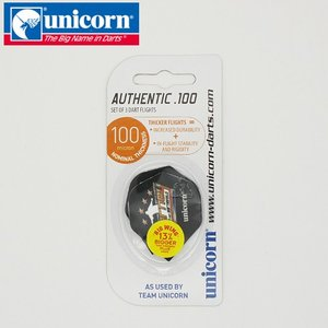 (SALE品) フライト unicorn Authentic.100 バーニー 68485(ポスト便OK/5トリ) dartsshoptito