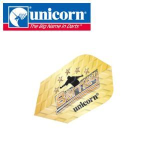 (SALE品) フライト unicorn Q100 バーニー 68501 (ポスト便OK/5トリ) dartsshoptito