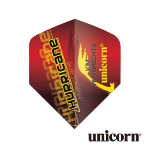 ダーツ フライト unicorn KIM HUYBRECHTS レッド(ポスト便OK/2トリ)|dartsshoptito