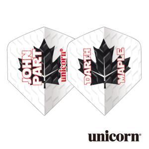 ダーツ フライト unicorn Q.100 JOHN PART MAPLE(ポスト便OK/2トリ)|dartsshoptito