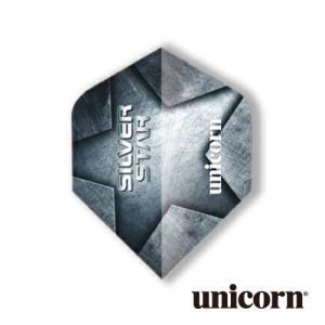 ダーツ フライト unicorn CORE.75 PLUS SILVER STAR(ポスト便OK/2トリ)|dartsshoptito