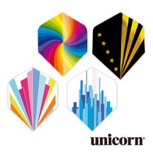 ダーツ フライト unicorn CORE .75 幾何学シリーズ(ポスト便OK/2トリ)|dartsshoptito