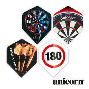 ダーツ フライト unicorn CORE.75 ダーツシリーズ(ポスト便OK/2トリ)|dartsshoptito