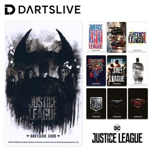 ダーツ ライブカード DARTSLIVE CARD JUSTICE LEAGUE ジャスティス・リーグ 全10種 (ポスト便OK/1トリ)|dartsshoptito