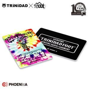 ダーツ フェニックスカード PHOENicA TRiNiDAD × FOOT THE NINE STATES トリニダード フット コラボ ナインステイツ (ポスト便OK/1トリ)|dartsshoptito