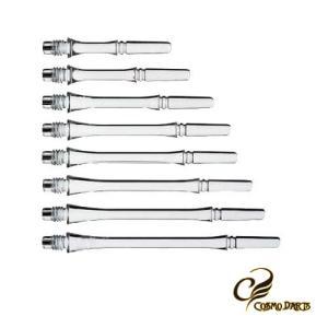 ダーツシャフト Fitシャフト GEAR スリム スピン クリア (ポスト便OK/3トリ)|dartsshoptito
