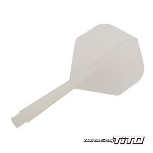 ダーツ フライト オリジナル ハウスダーツ用 シャフト ホワイト (ポスト便不可)