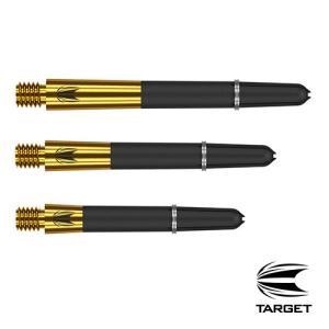 ダーツ シャフト TARGET CARBON TI PRO GOLD チタン カーボン ターゲット (ポスト便OK/2トリ) dartsshoptito